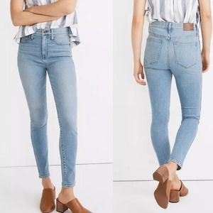 "Madewell 10"" High Rise Skinny Skinny Jeans 24 Tall"
